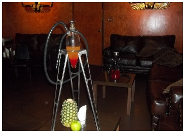 Cairo Glass Hookah Pipe